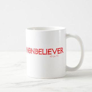 Nonbeliever 1 basic white mug