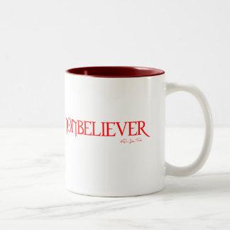 Nonbeliever 2 coffee mug