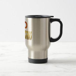 NonChapeadoras travel mug stainless steel