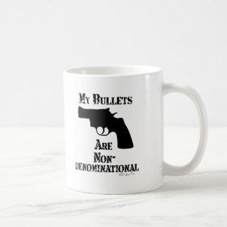 NonDenominational Bullets Basic White Mug