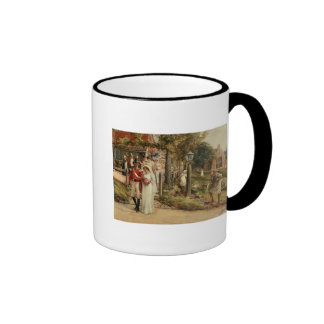 None But The Brave Deserve The Fair' Ringer Mug