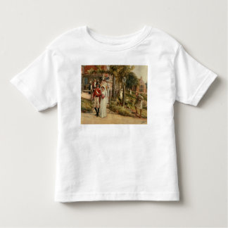 None But The Brave Deserve The Fair' Toddler T-Shirt