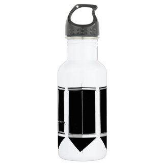 None More Black 532 Ml Water Bottle