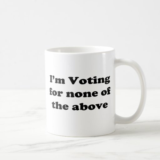 None of the above mug