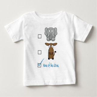 None of the Above Tshirts