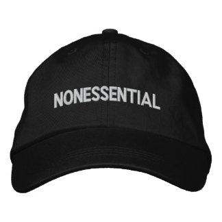 """Nonessential"" - Gov't Shutdown Hat Embroidered Baseball Cap"