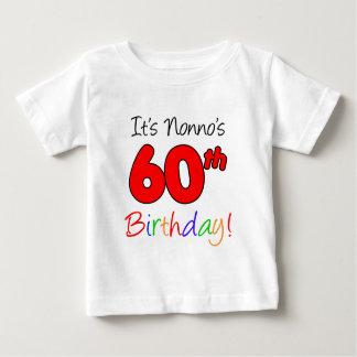 Nonno's 60th Birthday Baby T-Shirt