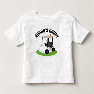 Nonnos Caddy (Golf) Toddler T-Shirt