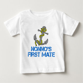 Nonno's First Mate Baby T-Shirt