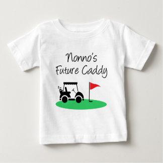 Nonno's Future Caddy Italian Grandchild Baby T-Shirt