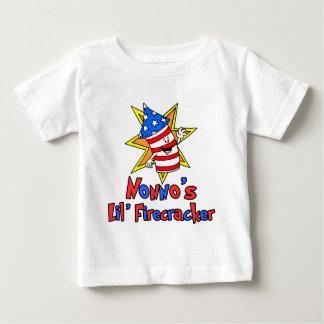 Nonno's Little Firecracker Baby T-Shirt