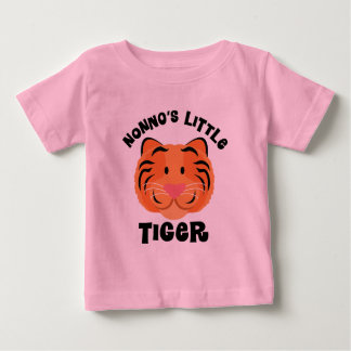 Nonnos Little Tiger Cute Gift Baby T-Shirt