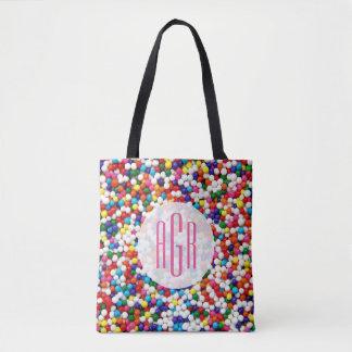 Nonpareils Monogrammed Tote Bag