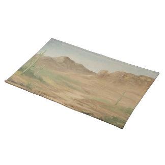 Noon Desert Landscape Placemat