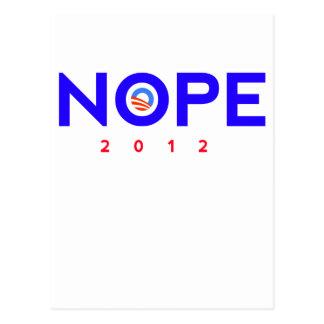 Nope Obama Items Post Card