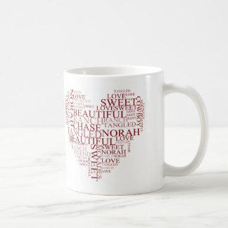 NORAH HEART Classic 11 oz Mug