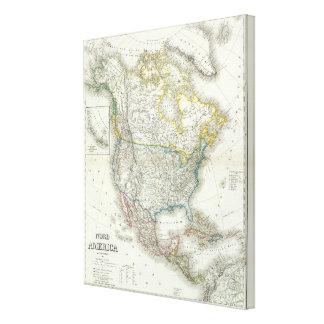 Nord America - North America Canvas Prints