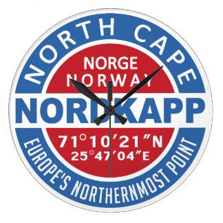 NORDKAPP Norway wall clock