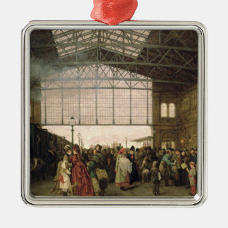 Nordwest Bahnhof, Vienna, 1875 Christmas Ornament