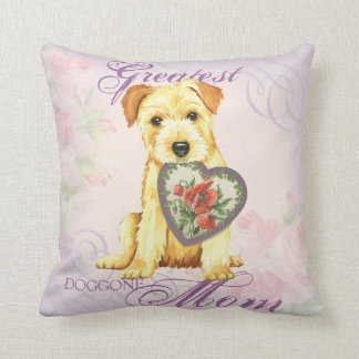 Norfolk Heart Mom Cushion
