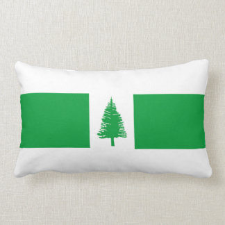 Norfolk Island country flag nation symbol Lumbar Cushion