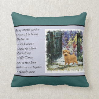 Norfolk Terrier Art Gifts Cushion