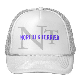 Norfolk Terrier Breed Monogram Cap