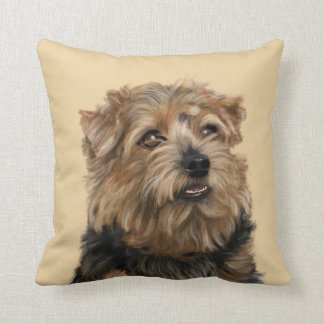 Norfolk Terrier Cushion