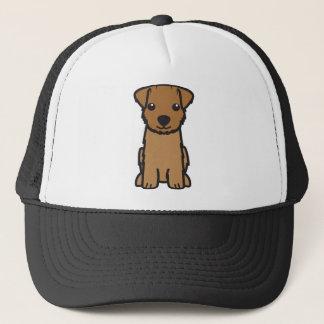 Norfolk Terrier Dog Cartoon Trucker Hat