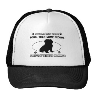 Norfolk Terrier Mommy Designs Cap