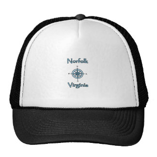 Norfolk Virginia Compass Rose Logo Cap