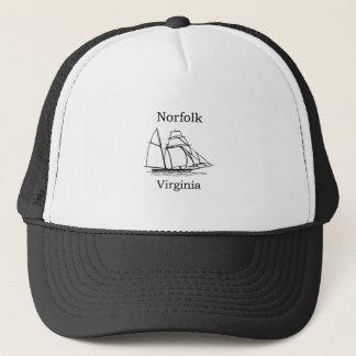 Norfolk Virginia Tall Ships Logo Trucker Hat