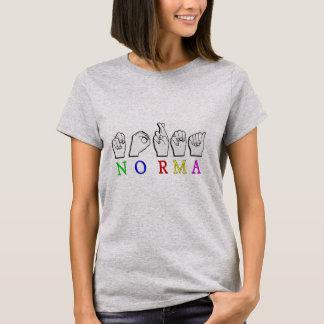NORMA FINGERSPELLED ASL NAME SIGN T-Shirt