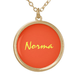 Norma Golden Necklace