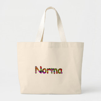Norma large canvas bag