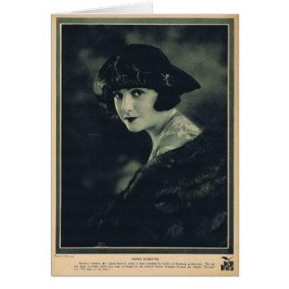 Norma Talmadge 1920 Card