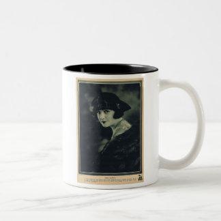 Norma Talmadge 1920 Two-Tone Coffee Mug