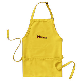 Norma's apron