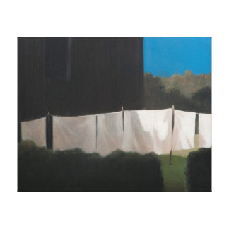 Norma's washing 2012 canvas print