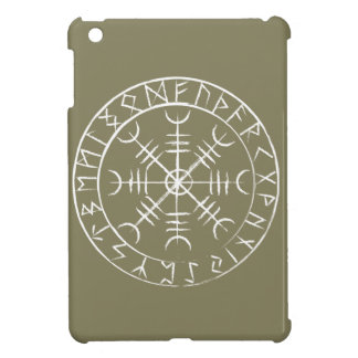 Norse Helm of Awe with Runes Case For The iPad Mini