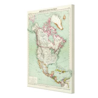 North America 10 Canvas Print