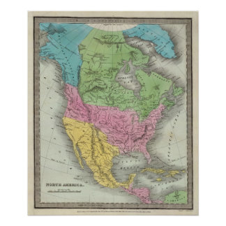 North America 10 Poster