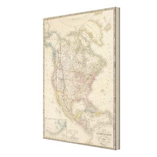 North America 11 Canvas Print