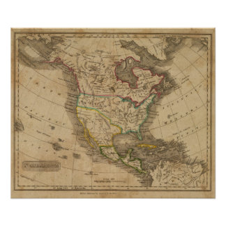 North America 14 Poster