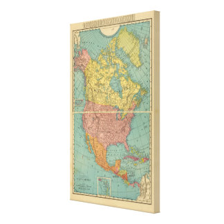 North America 15 Canvas Prints