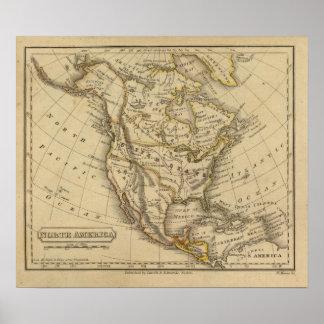 North America 16 Poster