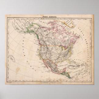 North America 17 Poster