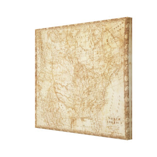 North America 1804 Canvas Print
