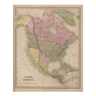 North America 18 Poster