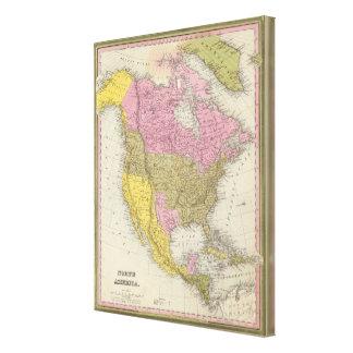 North America 21 Canvas Prints